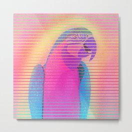 Buddy Parrot Metal Print
