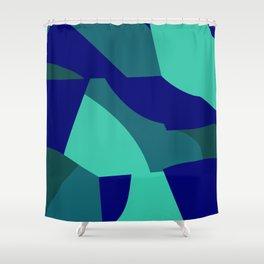 yoga flow Shower Curtain