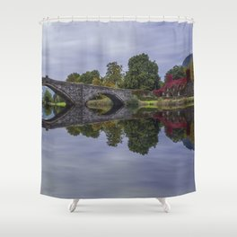 Autumn Cottage Shower Curtain