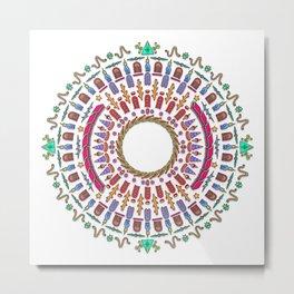 Wheel of Fortune. Metal Print