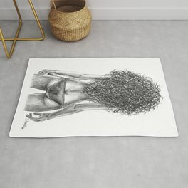 Curly girl Rug