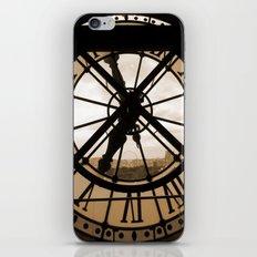 Parisian time iPhone & iPod Skin