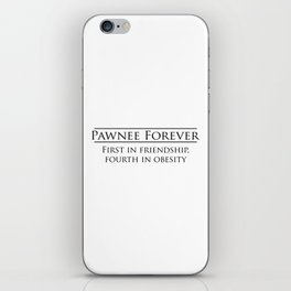 Parks and Recreation - Pawnee Forever iPhone Skin