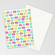 I love to kiss you Stationery Cards