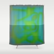 Yellow Color Leak Shower Curtain