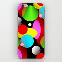 balloons iPhone & iPod Skins featuring Balloons by Artisimo