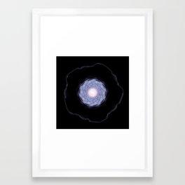 Mercury Mandala Framed Art Print