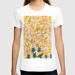 Yellow Flowers Bloom T-shirt