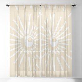 Sunshine / Sunbeam 9 Sheer Curtain