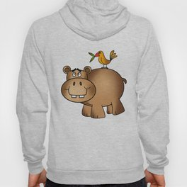 Hippo Po and Birdie Hoody