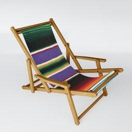 MEXICAN SERAPE Sling Chair