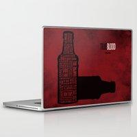 true blood Laptop & iPad Skins featuring True Blood by Luke Eckstein