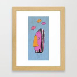 Le siffleur Framed Art Print