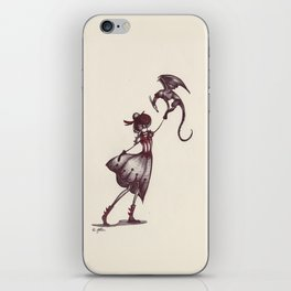 The Dragon Lady iPhone Skin