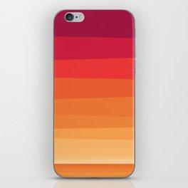 Honolulu Sunset Beach Color iPhone Skin