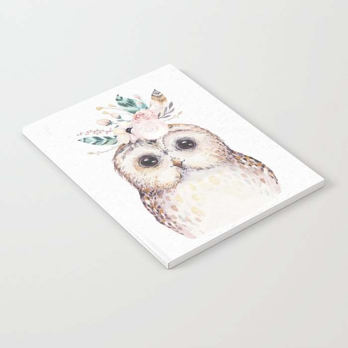 Forest Owl by Nature Magick Notebook