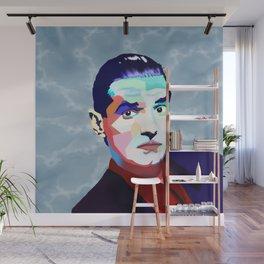 Portrait of Hans Holzel (Falco) Wall Mural