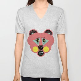 Grizzly Bear Necessities Unisex V-Neck