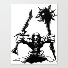 Migthy Orc Canvas Print