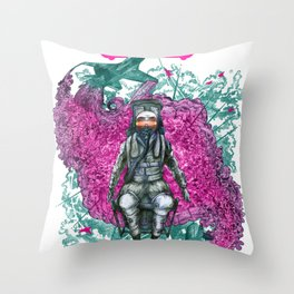 EJECT! Throw Pillow