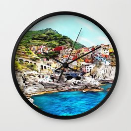 Manarola Wall Clock