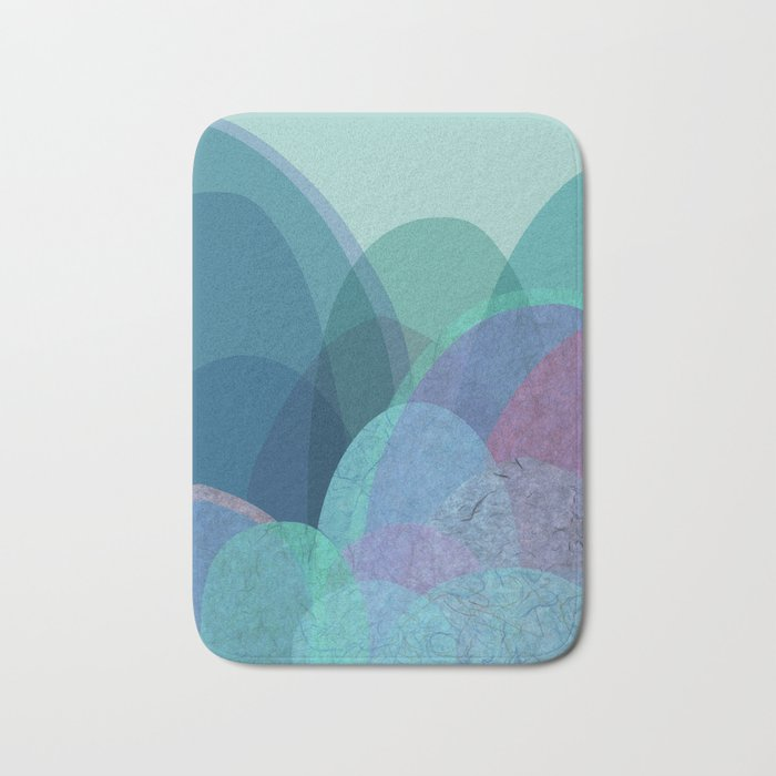 It is not the mountain we conquer but ourselves Bath Mat