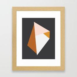 Juxtaposed Framed Art Print