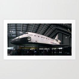 Space Shuttle Endeavour Art Print