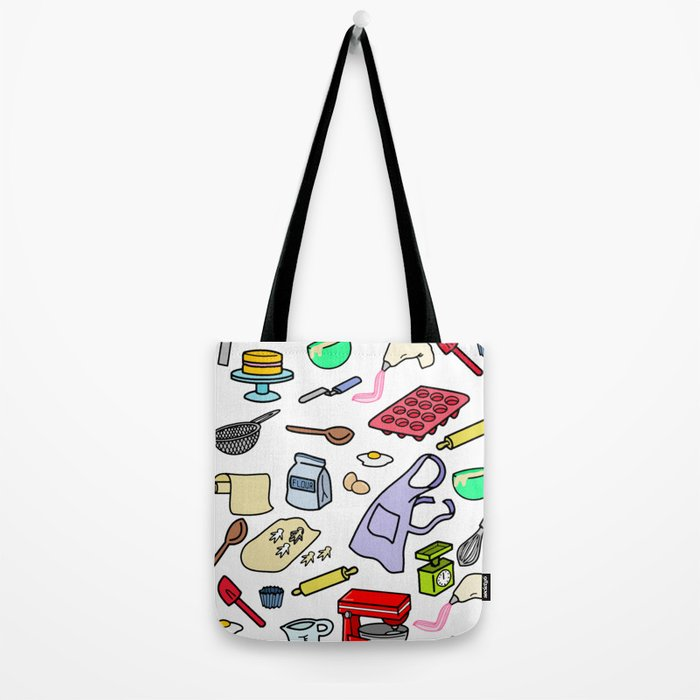 BAKE COOK BE  A CHEF Tote Bag