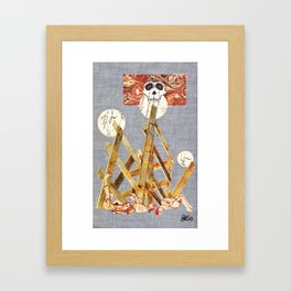 'Capitalism' Framed Art Print