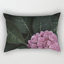 Pink Hydrangea Flower Garden Southern Beauty Summer Nature Photography Rectangular Pillow