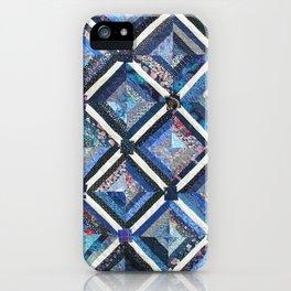Lattice work quilt iPhone Case