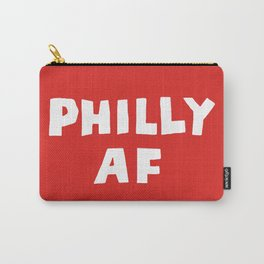Philly AF (Red) Carry-All Pouch
