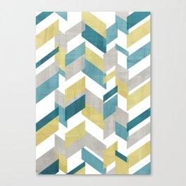Bright geometrical pattern Canvas Print