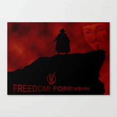 V for Vendetta (e3) Canvas Print