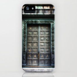 Doors of the Baptistry, Florence, Italy iPhone Case