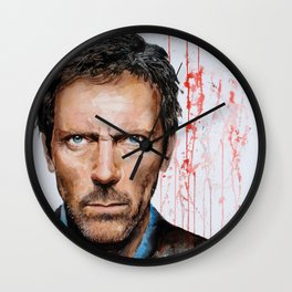 Hugh Laurie, House Wall Clock