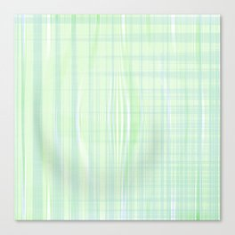 Looks like water droplet when you see from afar falling down the stripy background Canvas Print