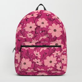 Cosmea pink Backpack