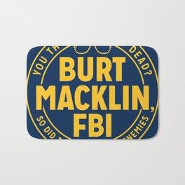 BURT FBI MACKLIN Bath Mat