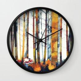 Autumn Hunt Wall Clock