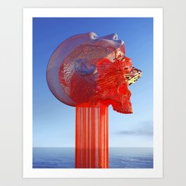 Digital Metamorphosis Art Print