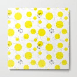 Dotted pattern Metal Print