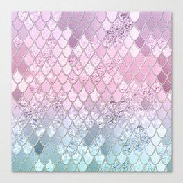 Mermaid Glitter Scales #2 #shiny #decor #art #society6 Canvas Print