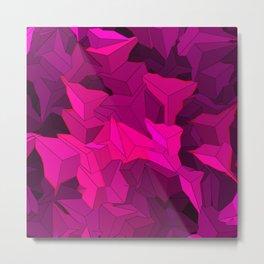 pink triangle Metal Print