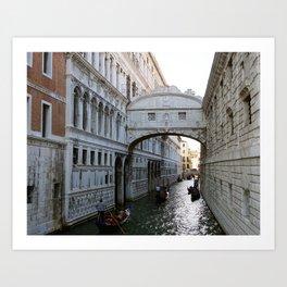 Bridge of Sighs, Venice, Italy - Photography Art Print