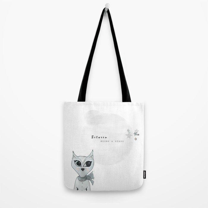Milo Moon // little black lines Tote Bag