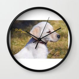 """Stella Mae"" Wall Clock"