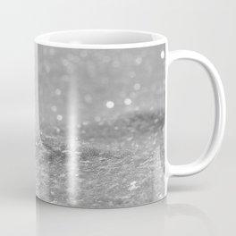 Glitter Silver Coffee Mug