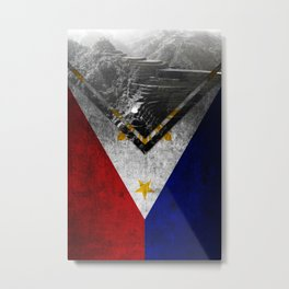 Flags - Philippines Metal Print
